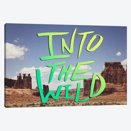Into the Wild (Moab) Canvas Print #LFS36} by Leah Flores Art Print