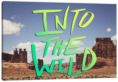 Into the Wild (Moab) Canvas Art Print