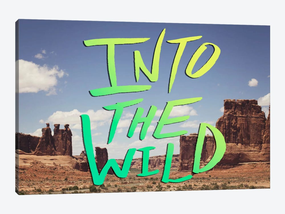 Into the Wild (Moab) by Leah Flores 1-piece Canvas Artwork