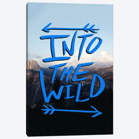 Into the Wild (Yosemite) Canvas Print #LFS37} by Leah Flores Canvas Print