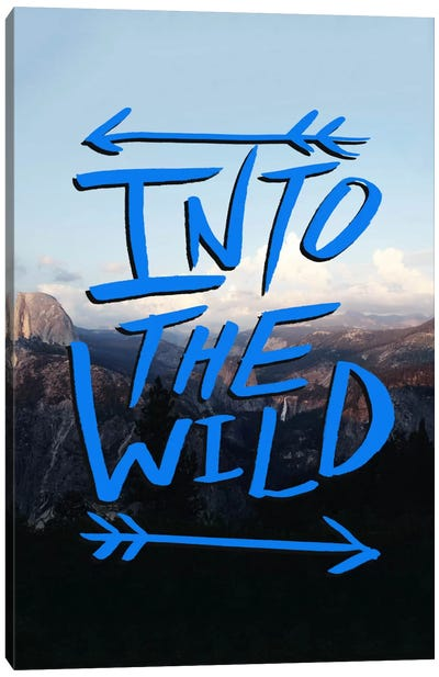 Into the Wild (Yosemite) Canvas Print #LFS37