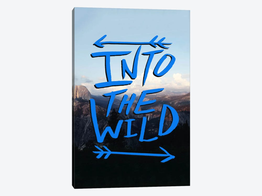 Into the Wild (Yosemite) by Leah Flores 1-piece Canvas Print