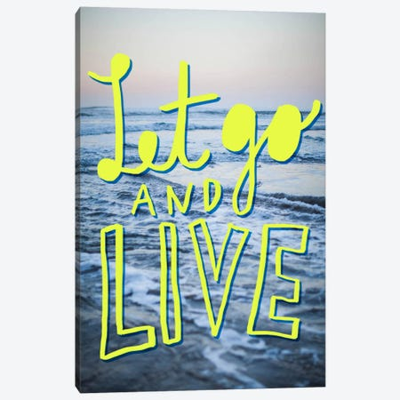 Let Go Canvas Print #LFS39} by Leah Flores Canvas Artwork