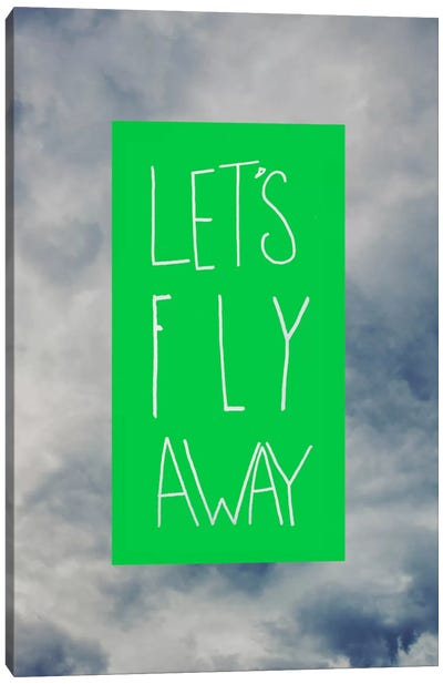 Let's Fly Away Canvas Art Print