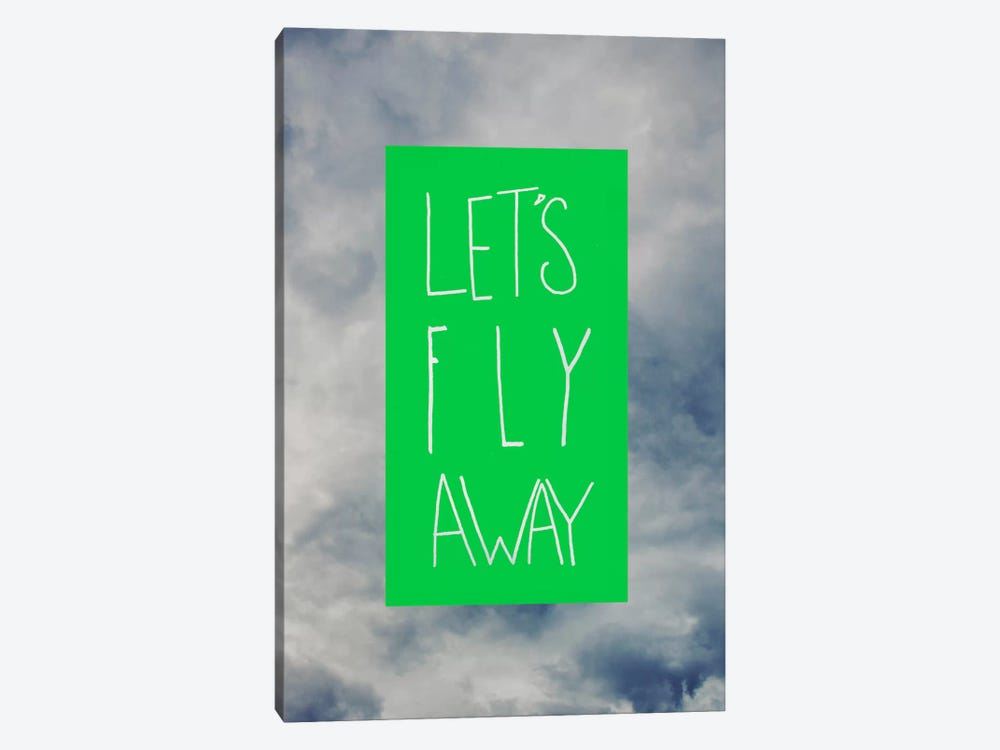 Let's Fly Away by Leah Flores 1-piece Canvas Art Print