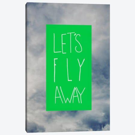 Let's Fly Away Canvas Print #LFS40} by Leah Flores Canvas Art Print
