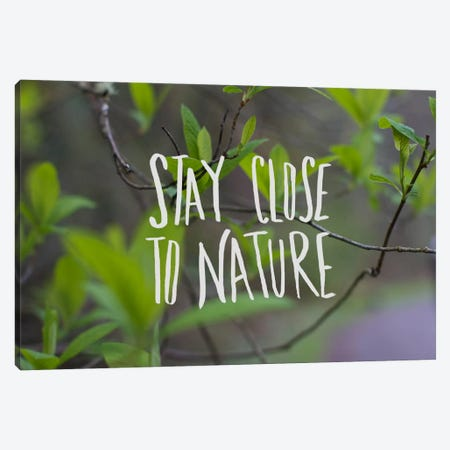 Nature Canvas Print #LFS46} by Leah Flores Canvas Wall Art