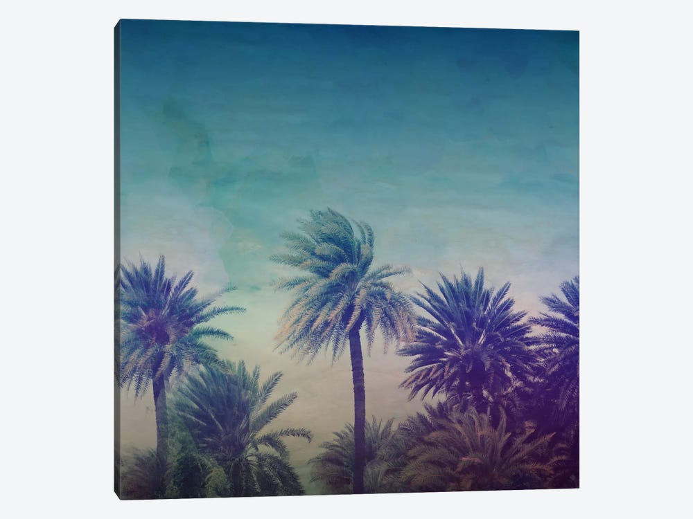 Palm Paradise 1-piece Canvas Wall Art