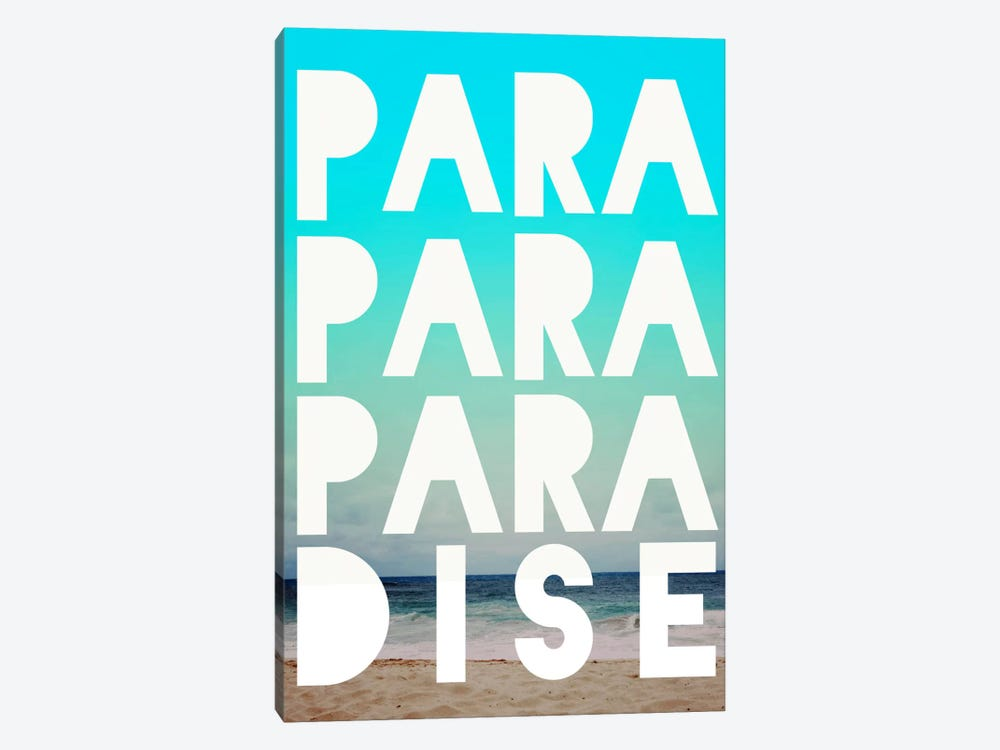 PARADISE by Leah Flores 1-piece Canvas Artwork
