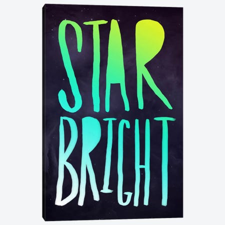 Star Bright Canvas Print #LFS52} by Leah Flores Canvas Wall Art