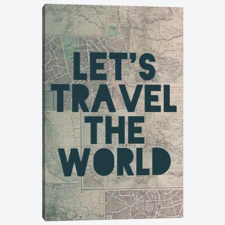 Travel the World Canvas Print #LFS55} by Leah Flores Canvas Print
