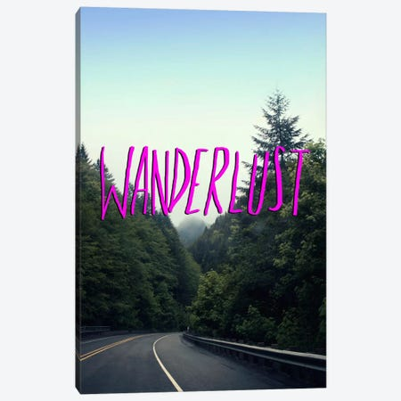 Wanderlust Forest Canvas Print #LFS56} by Leah Flores Canvas Art Print