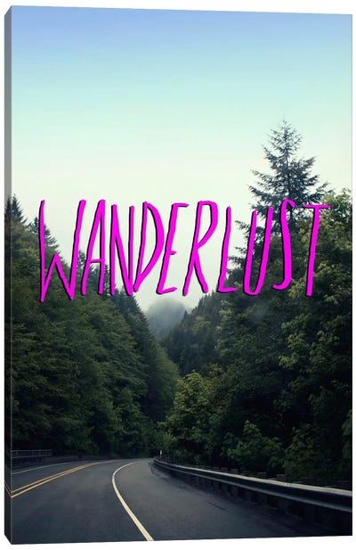 Wanderlust Forest Canvas Print #LFS56