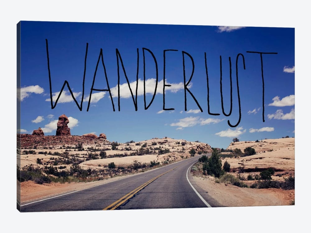 Wanderlust Road by Leah Flores 1-piece Art Print