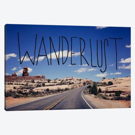 Wanderlust Road Canvas Print #LFS57} by Leah Flores Canvas Print