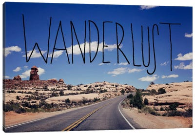 Wanderlust Road Canvas Art Print