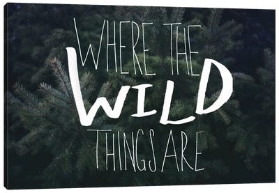 Where the Wild Things Are Canvas Print #LFS58