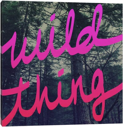 Wild Thing Canvas Art Print