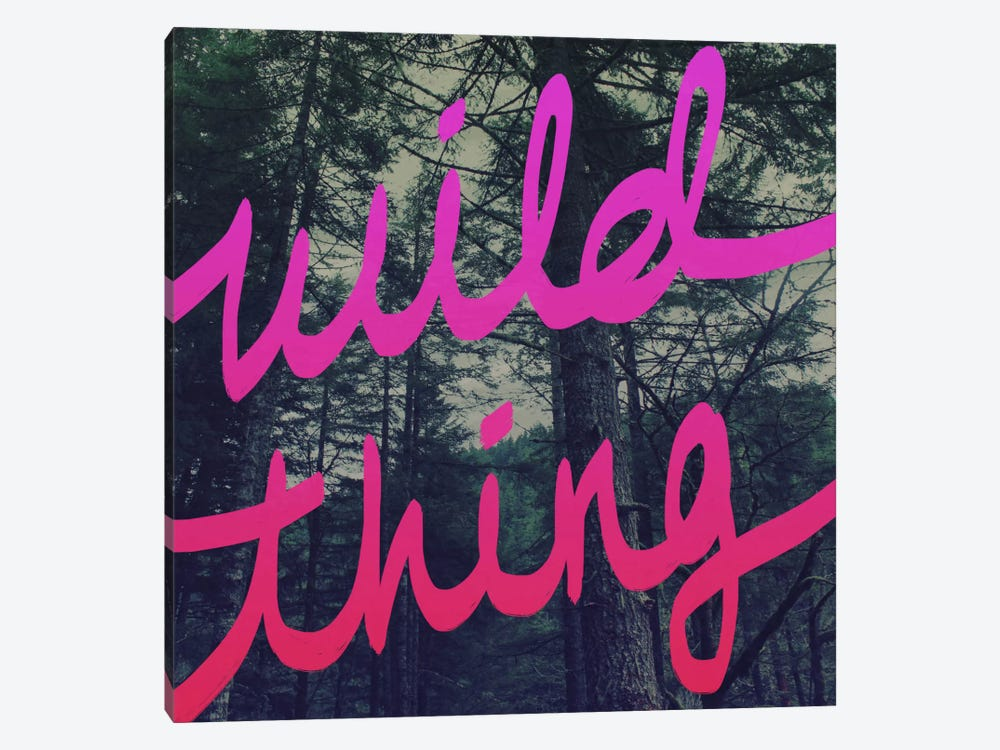 Wild Thing by Leah Flores 1-piece Art Print