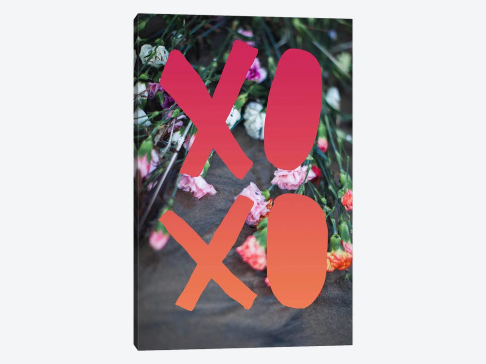 XOXO by Leah Flores 1-piece Art Print