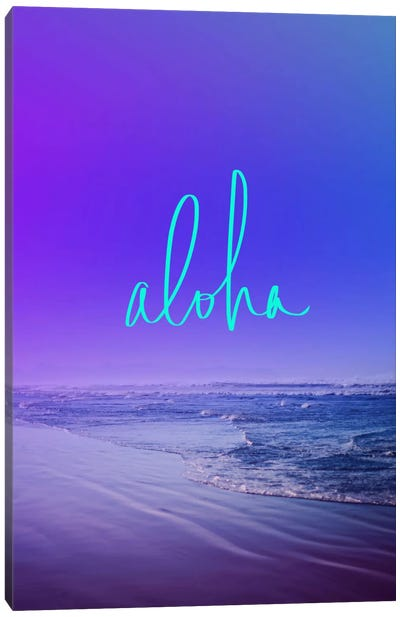 Aloha Canvas Art Print