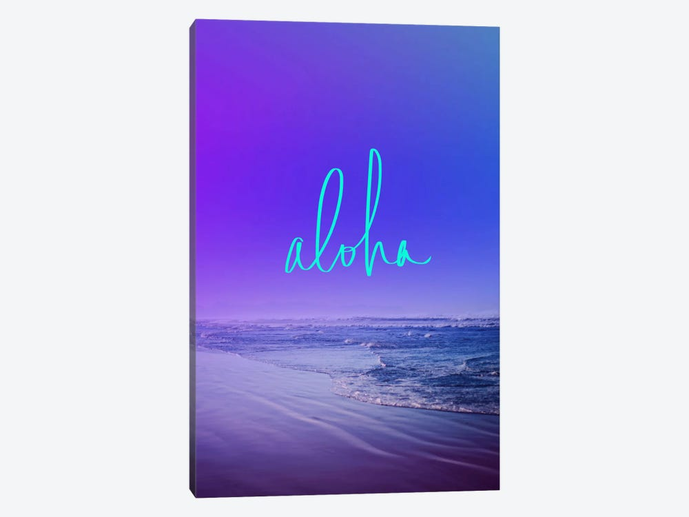 Aloha by Leah Flores 1-piece Canvas Artwork
