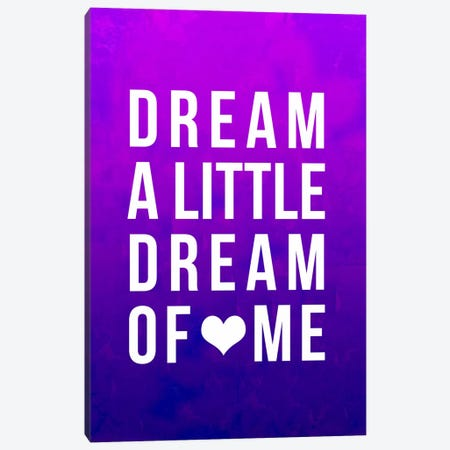 Dream Purple Art Canvas Print #LFS62} by Leah Flores Art Print