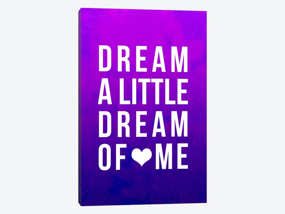 Dream Purple Art by Leah Flores 1-piece Art Print