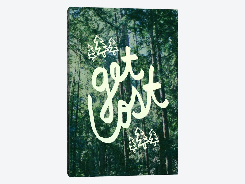Get Lost Forest by Leah Flores 1-piece Canvas Art Print