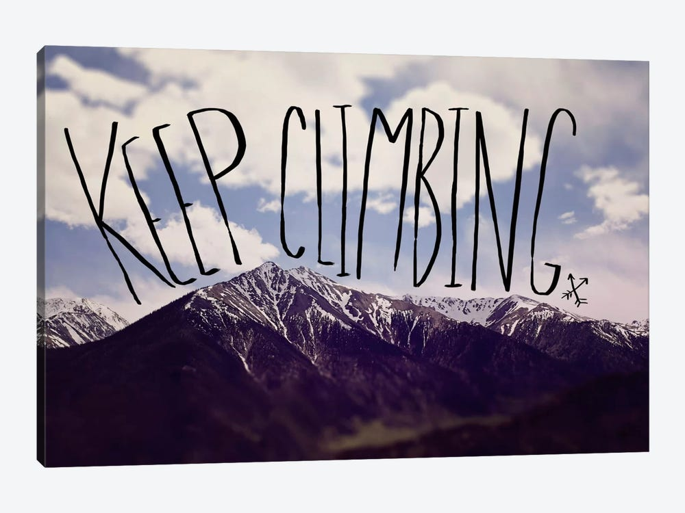Keep Climbing by Leah Flores 1-piece Canvas Wall Art