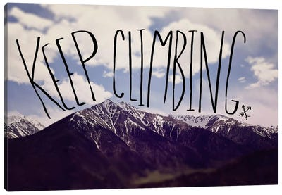 Keep Climbing Canvas Art Print