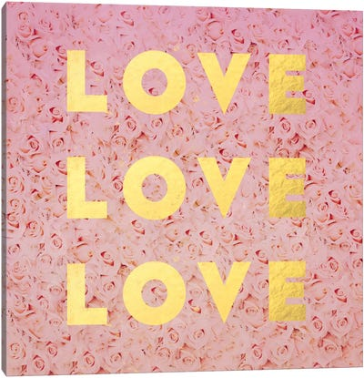 Love & Roses Canvas Art Print