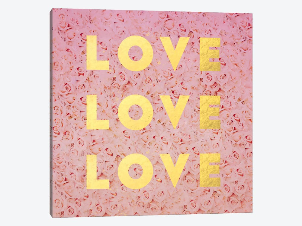 Love & Roses 1-piece Canvas Artwork