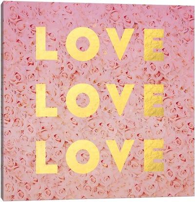 Love & Roses Canvas Art Print