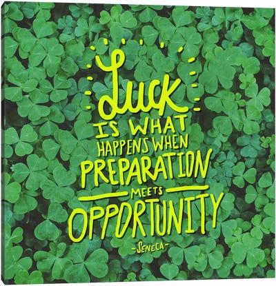 Luck Seneca Canvas Art Print