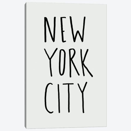 NYC 11 Canvas Print #LFS80} by Leah Flores Art Print