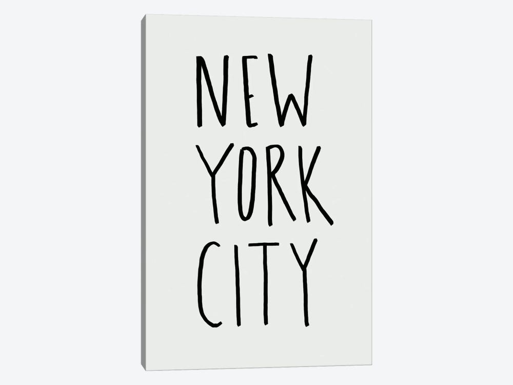 NYC 11 by Leah Flores 1-piece Canvas Art Print