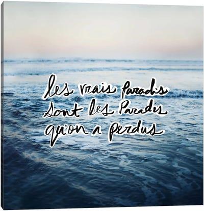 Paradis Canvas Print #LFS83