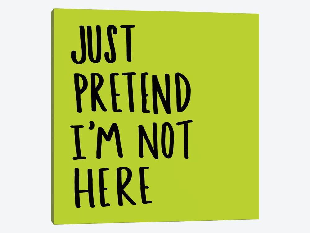 Pretend by Leah Flores 1-piece Canvas Print
