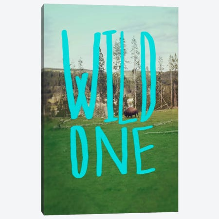 Wild One Art Canvas Print #LFS90} by Leah Flores Canvas Wall Art