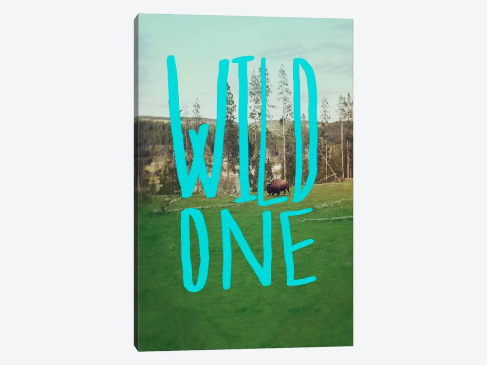 Wild One Art by Leah Flores 1-piece Canvas Wall Art