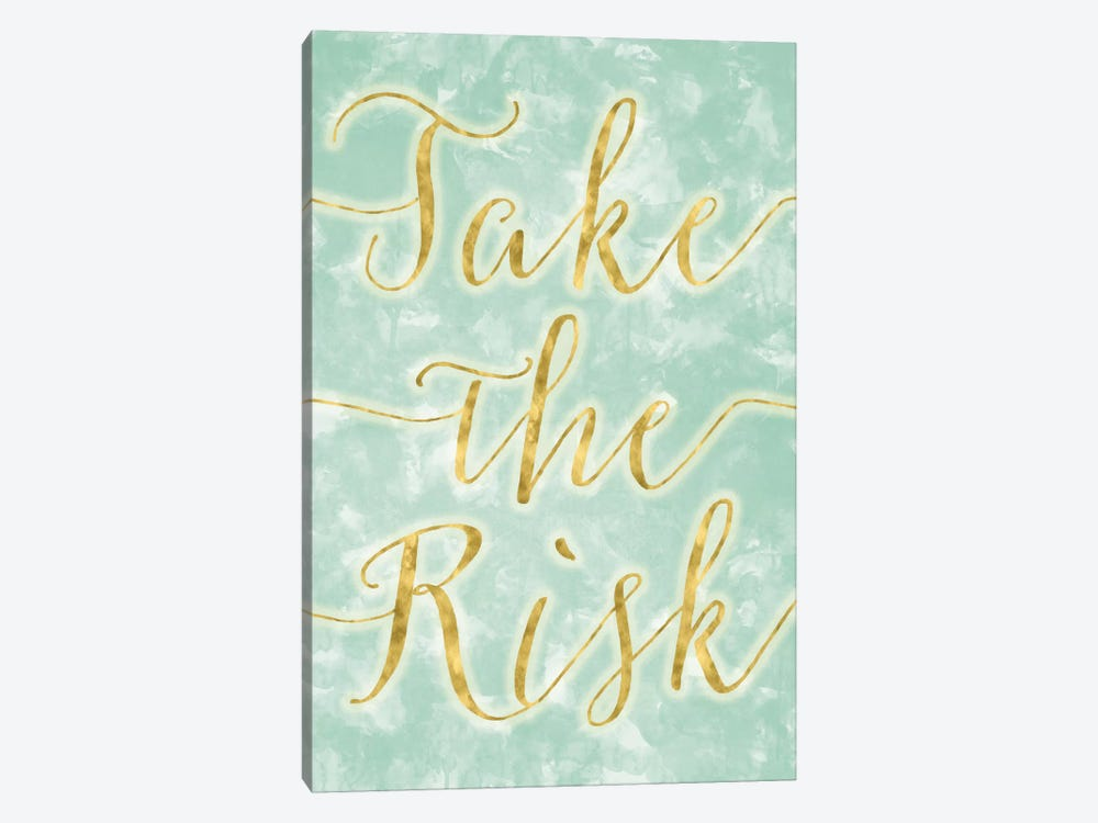 Take The Risk by 5by5collective 1-piece Canvas Wall Art
