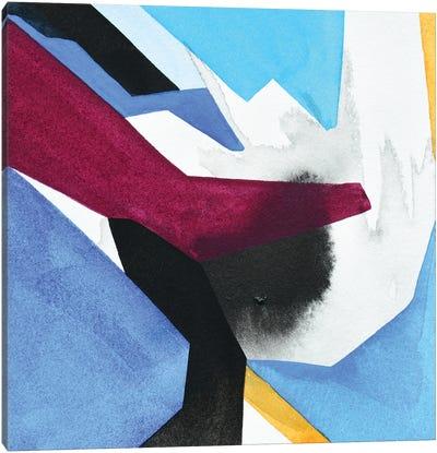 Dark Coast No. 9 Canvas Art Print