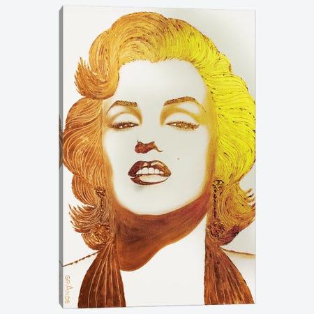 Gold Homage Canvas Print #LGA10} by Alla GrAnde Canvas Print
