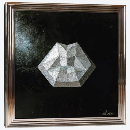Diamond Lips Canvas Print #LGA131} by Alla GrAnde Canvas Print