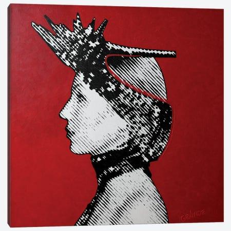 Louboutin Red Sole Canvas Print #LGA150} by Alla GrAnde Canvas Art Print