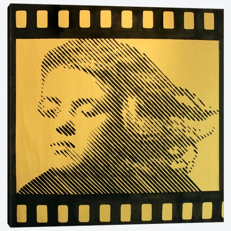 Homage To Marilyn Monroe I Canvas Print #LGA151} by Alla GrAnde Canvas Print