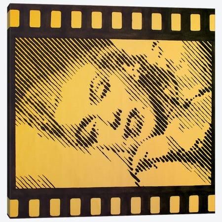 Homage To Marilyn Monroe II Canvas Print #LGA152} by Alla GrAnde Art Print
