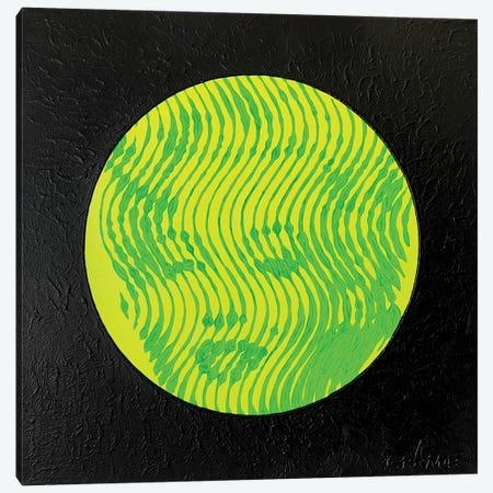 Marilyn Neon Yellow Canvas Print #LGA171} by Alla GrAnde Canvas Print