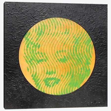 Marilyn Neon Orange Canvas Print #LGA174} by Alla GrAnde Canvas Wall Art